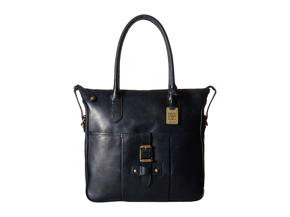 Frye - Parker Tote (Navy Antique Pull Up) Tote Handbags