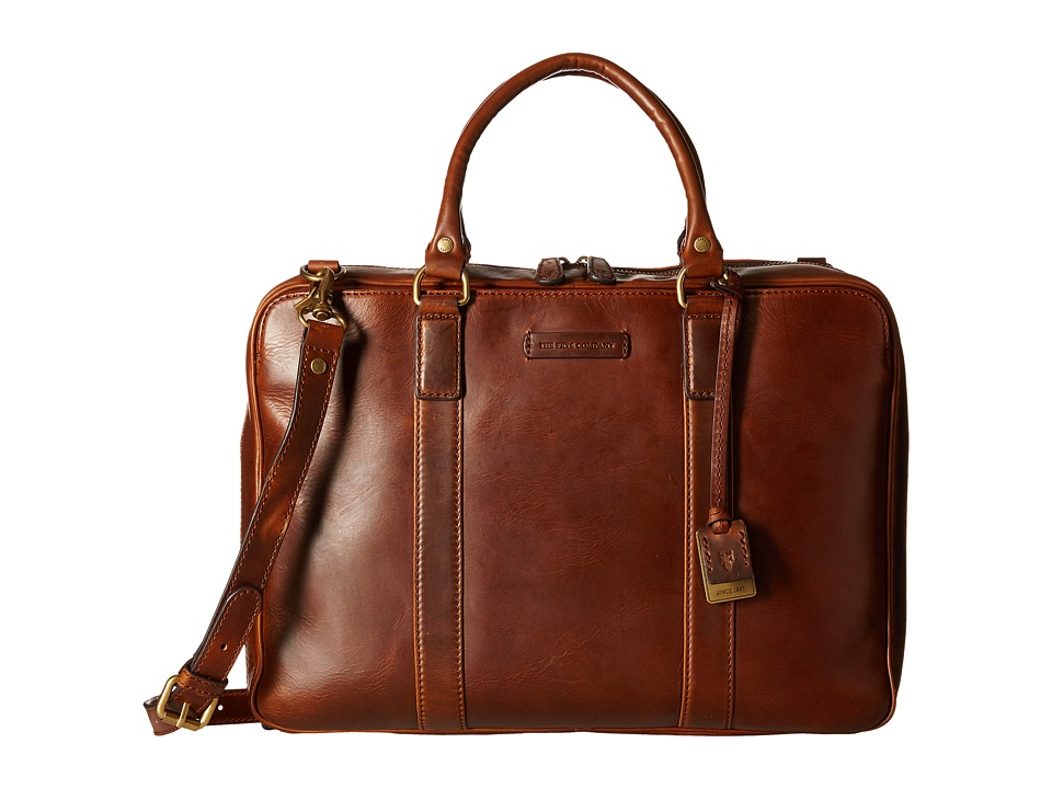 Frye - David Brief (Whiskey Smooth Full Grain) Briefcase Bags