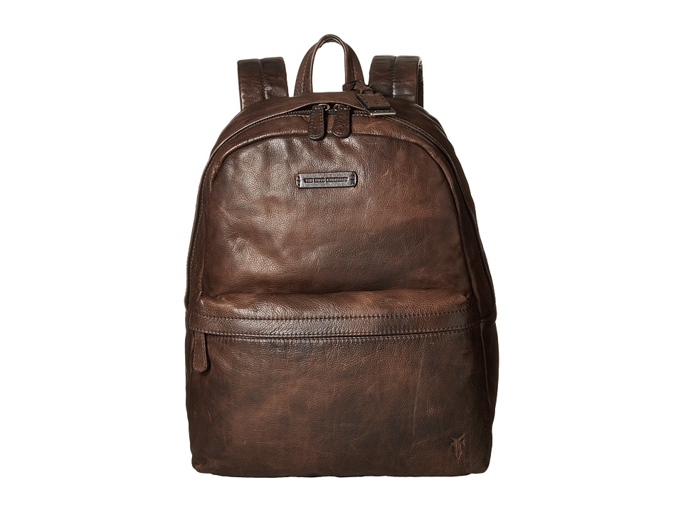 Frye - Tyler Backpack (Grey Vintage Pull Up) Backpack Bags