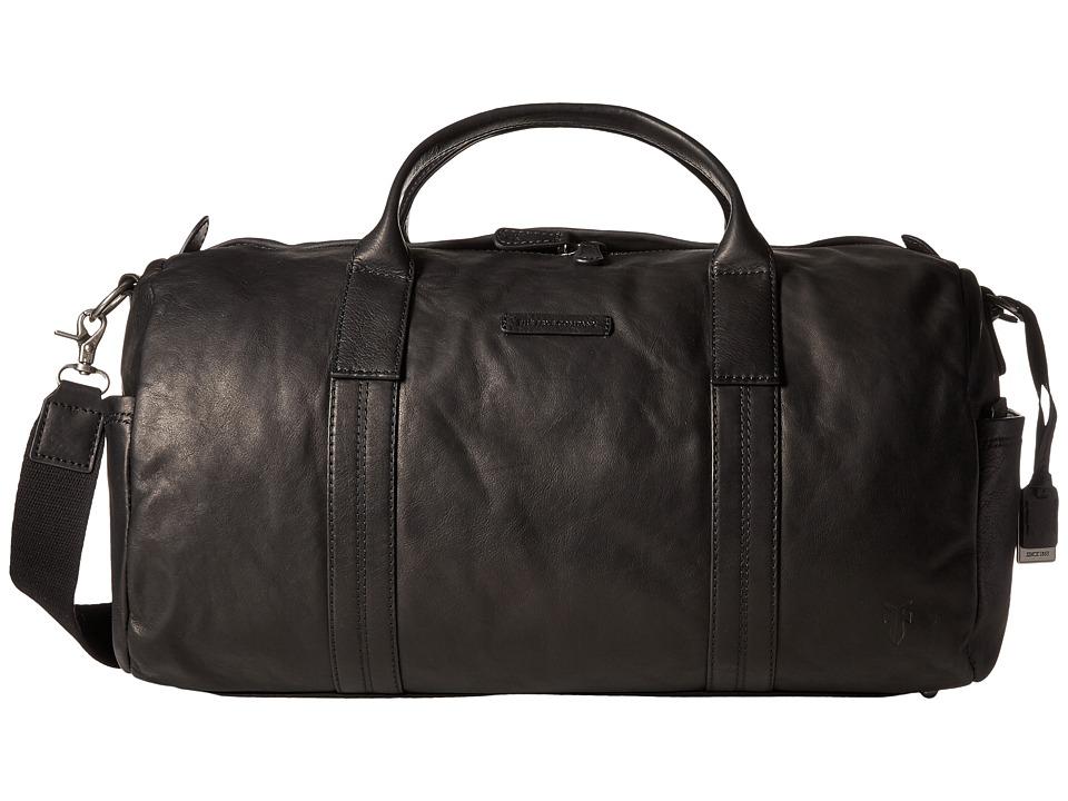 Frye - Tyler Duffel (Black Vintage Pull Up) Duffel Bags