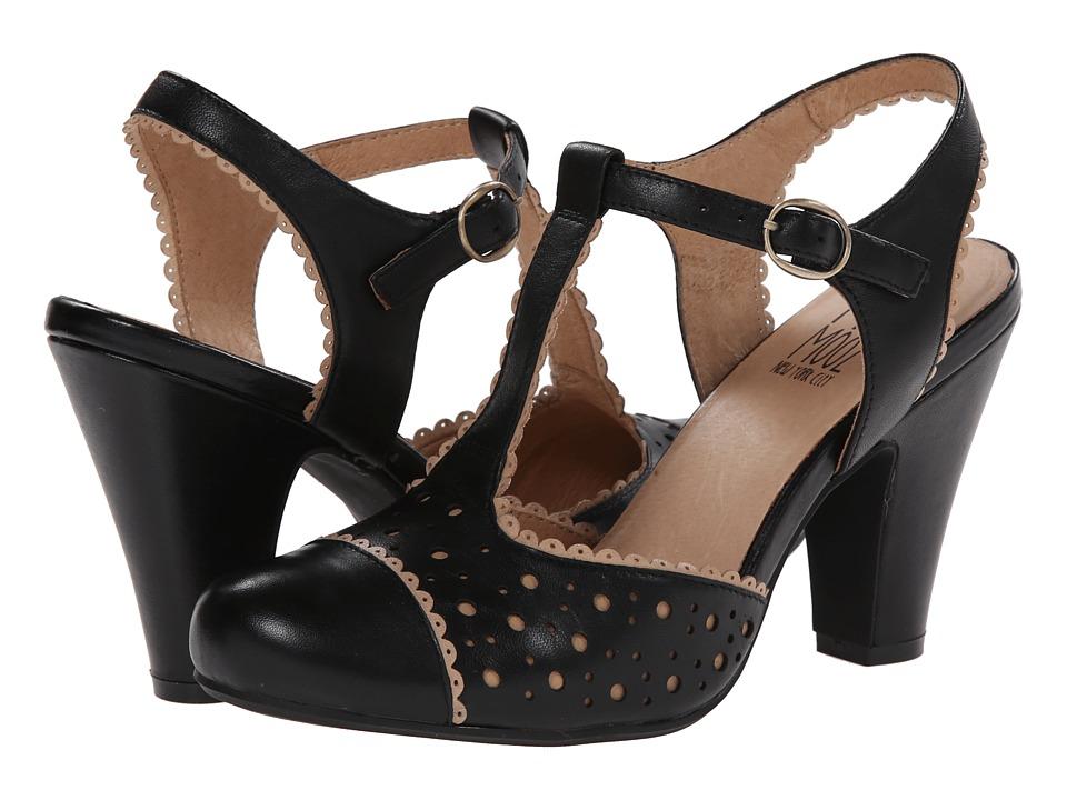 Miz Mooz - Nico (Black) Women's 1-2 inch heel Shoes