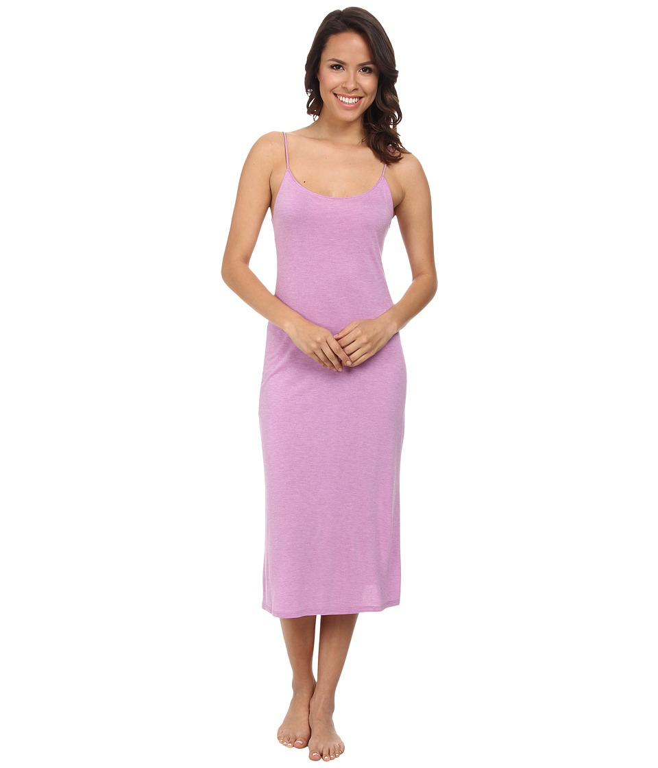 Natori - Shangri-La Gown (Heather Passion Purple) Women's Pajama
