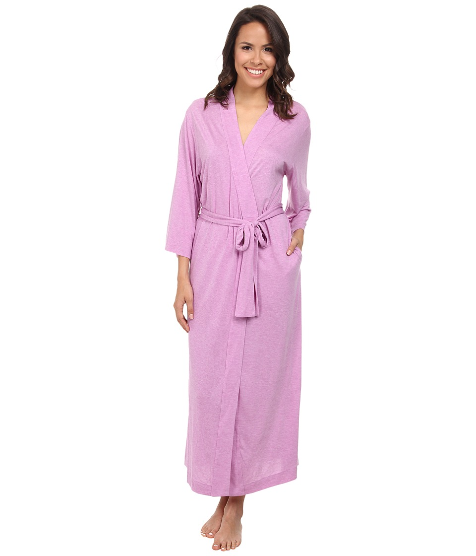 Natori - Shangri-La Robe (Heather Passion Purple) Women