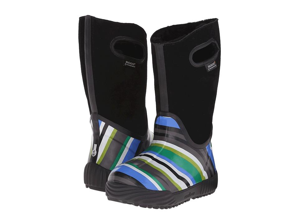 Bogs Kids - Prairie Stripes (Toddler/Little Kid/Big Kid) (Black Multi) Girls Shoes