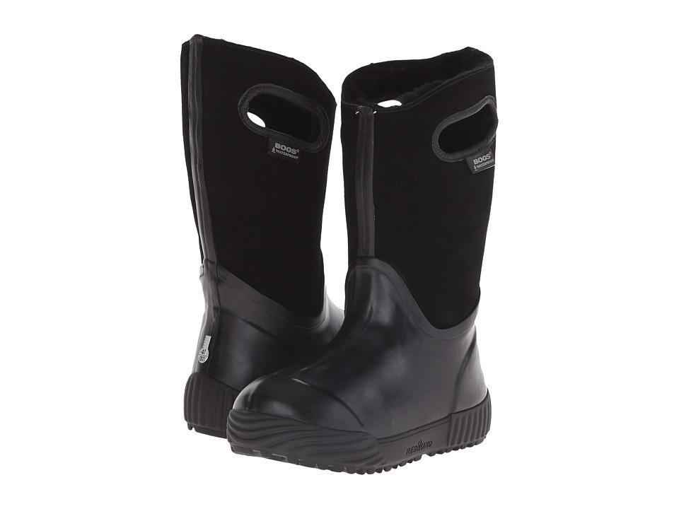 Bogs Kids - Prairie Solid (Toddler/Little Kid/Big Kid) (Black) Kids Shoes