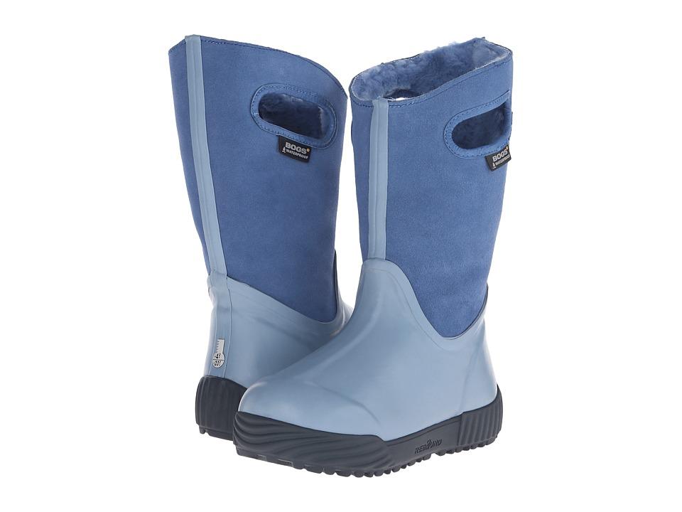 Bogs Kids - Prairie Solid (Toddler/Little Kid/Big Kid) (Periwinkle) Kids Shoes