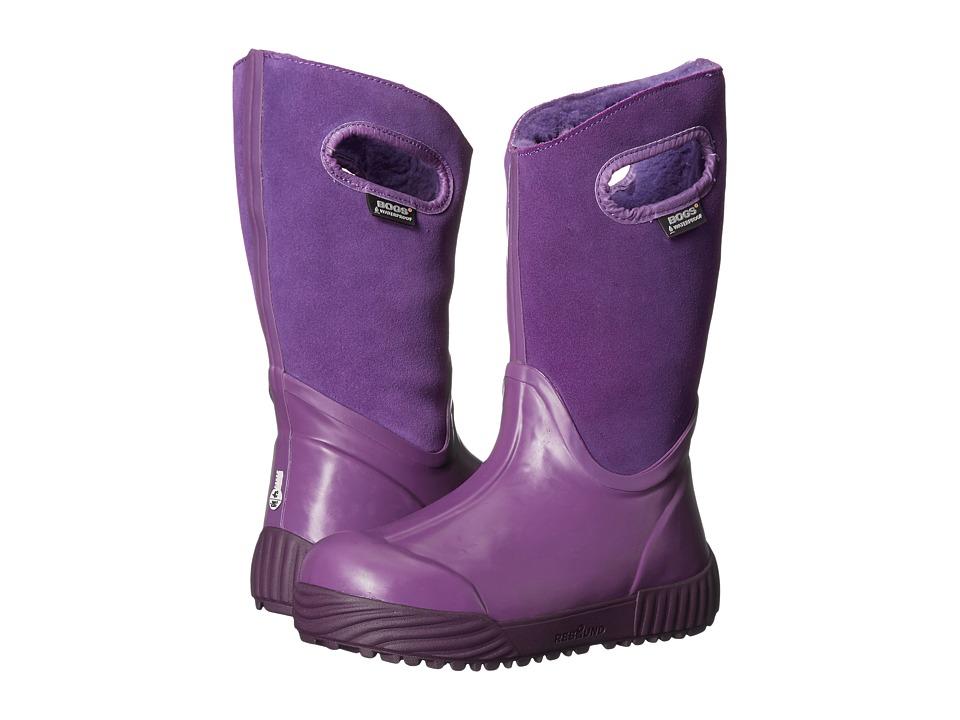 Bogs Kids - Prairie Solid (Toddler/Little Kid/Big Kid) (Grape) Kids Shoes
