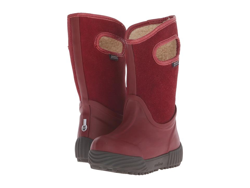 Bogs Kids - City Farmer (Toddler/Little Kid/Big Kid) (Red) Kids Shoes
