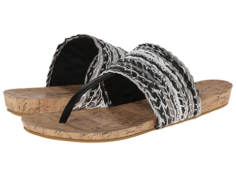 Dirty Laundry - DL Mine and Forever (Black Multi) Women's Sandals