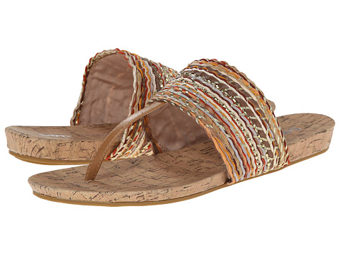 Dirty Laundry - DL Mine and Forever (Natural Multi) Women's Sandals