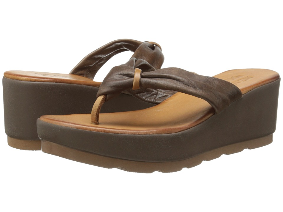 Miz Mooz - Burma (Dark Brown) Women's Sandals