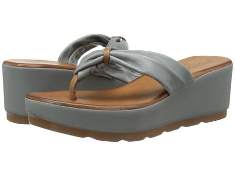 Miz Mooz - Burma (Dark Grey) Women's Sandals