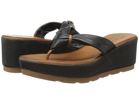 Miz Mooz - Burma (Black) Women's Sandals