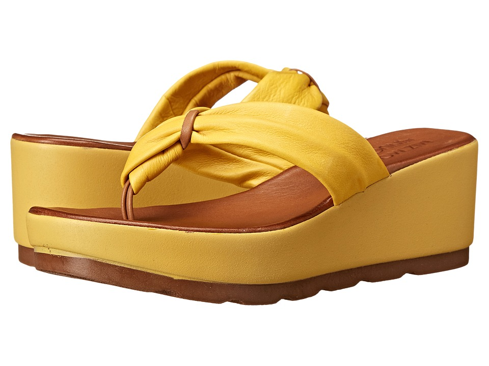 Miz Mooz - Burma (Yellow) Women's Sandals
