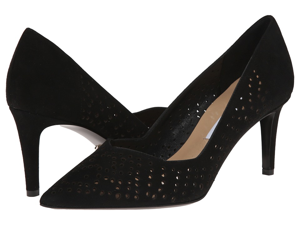 Diane von Furstenberg - Holla (Black Kid Suede) High Heels