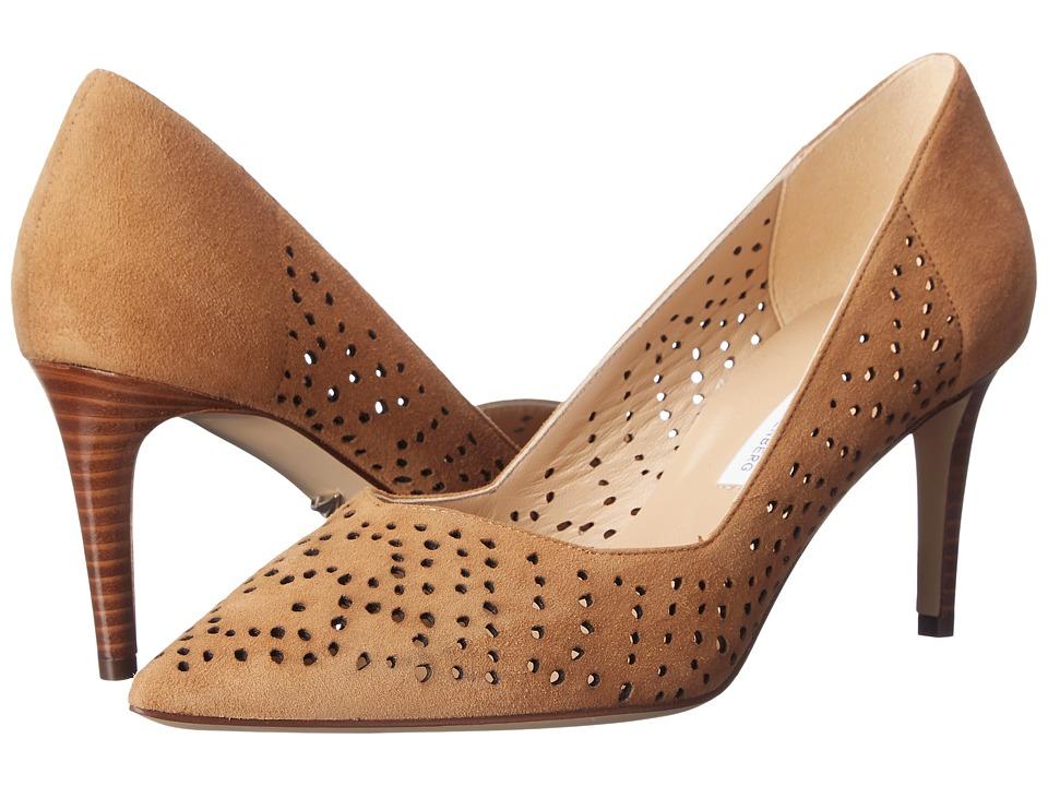 Diane von Furstenberg - Holla (Tan Kid Suede) High Heels
