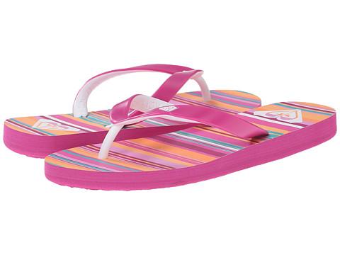 Roxy Kids - Tahiti V QSR (Little Kid/Big Kid) (Hot Pink) Girls Shoes