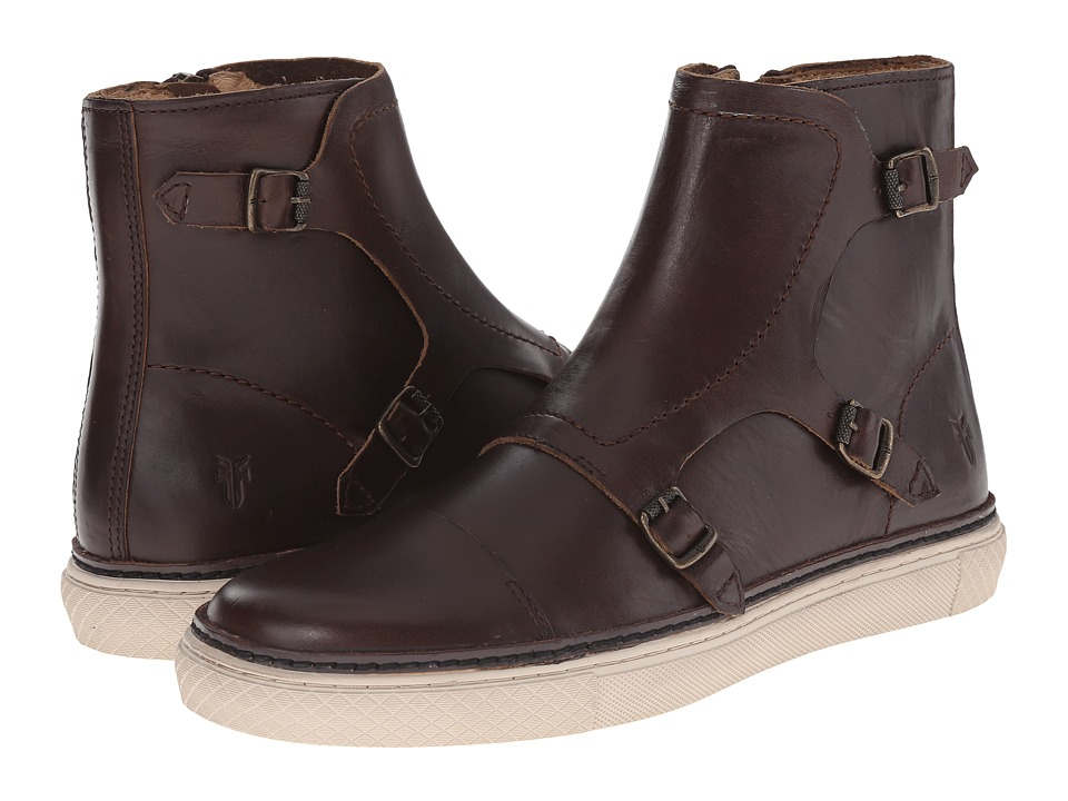 Frye - Gates Triple Monk (Espresso Smooth Full Grain) Men