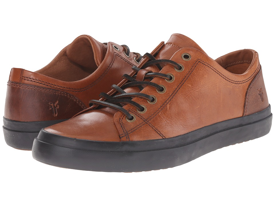 Frye - Grand Low Lace (Cognac Smooth Vintage Leather) Men's Lace up casual Shoes
