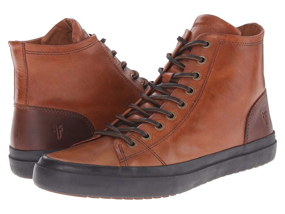 Frye - Grand Tall Lace (Cognac Smooth Vintage Leather) Men's Lace up casual Shoes