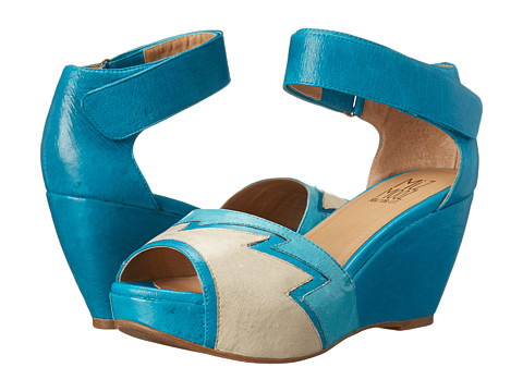 Miz Mooz - Yvette (Ocean) Women's Wedge Shoes