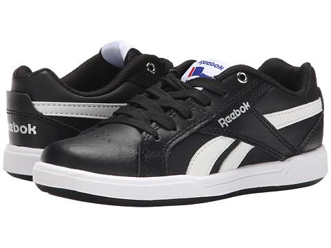 Reebok Kids - Royal Advanced (Little Kid/Big Kid) (Black/White/Silver) Kids Shoes