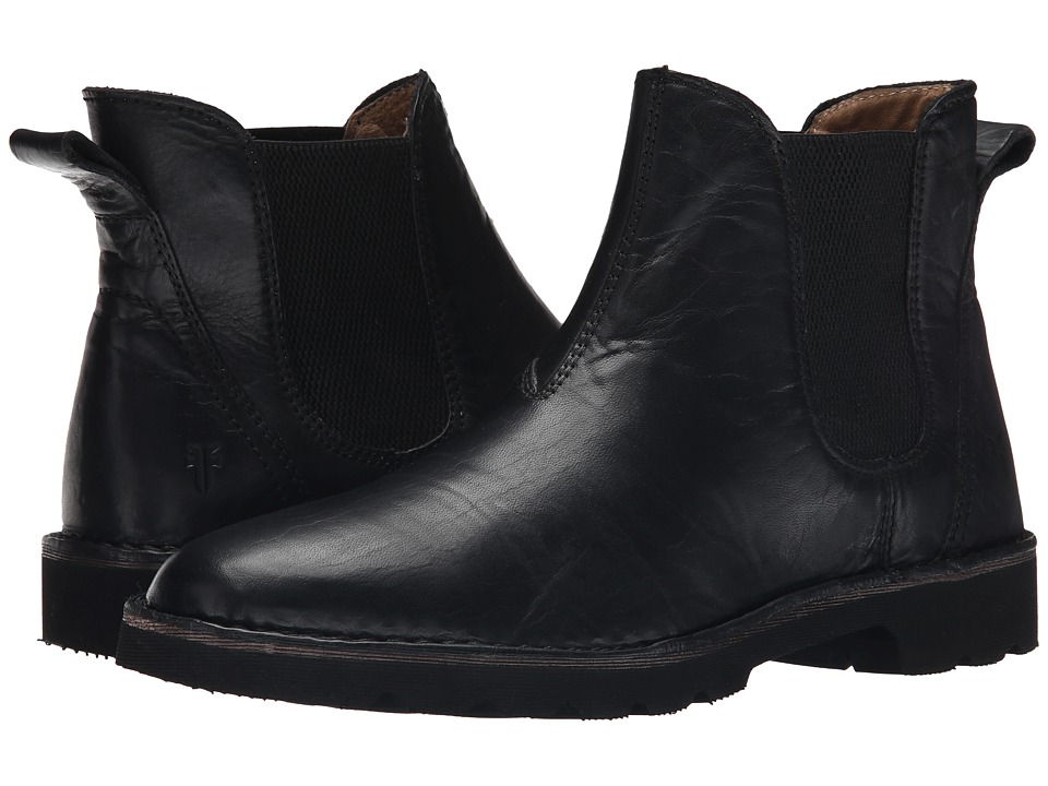 Frye - Holden Chelsea (Black Oiled Vintage) Men
