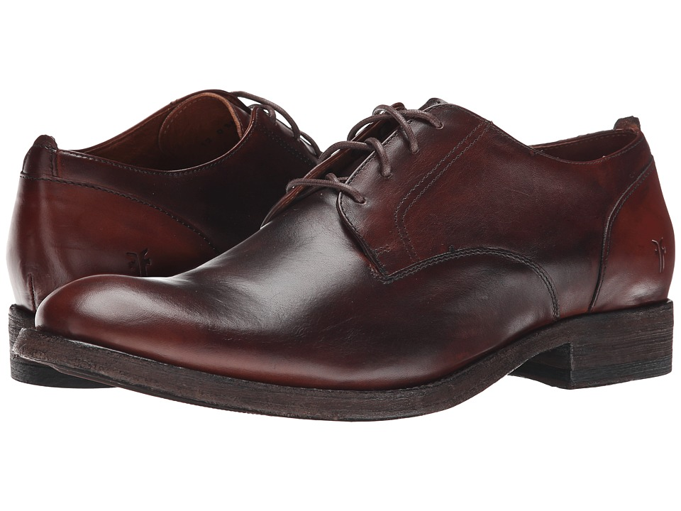 Frye Jacob Oxford (Redwood Antiqued Full Grain) Men
