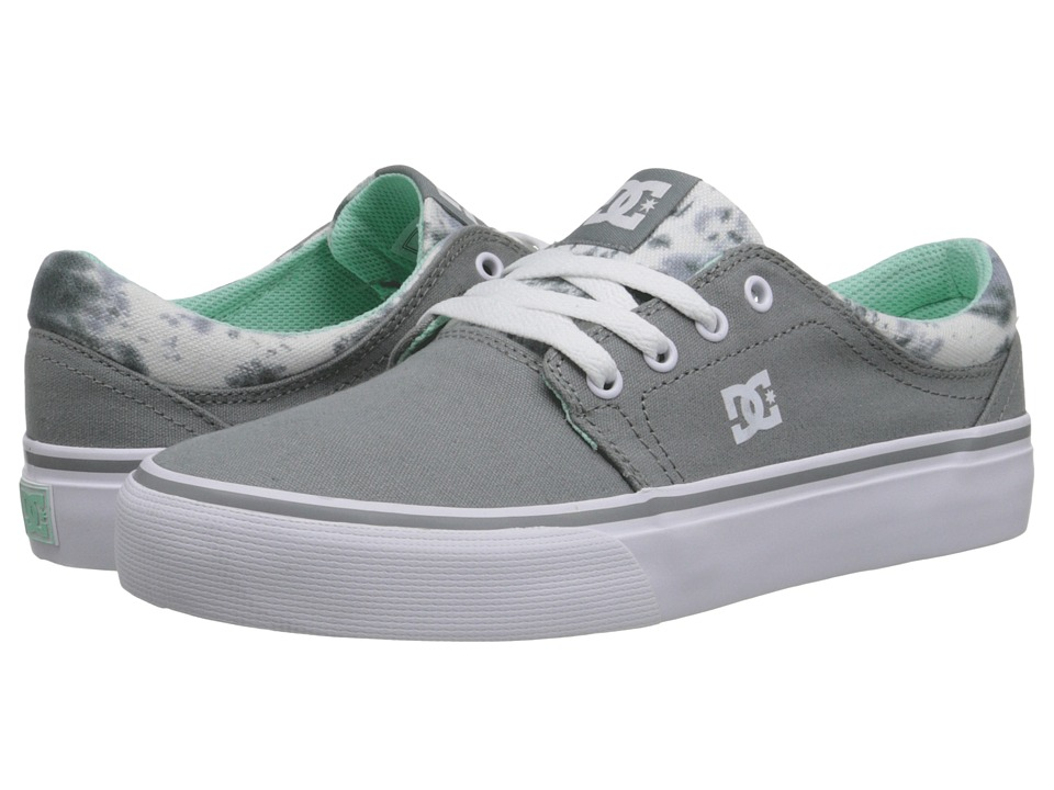 DC - Trase TX SE (Grey Feather Camo) Women's Skate Shoes