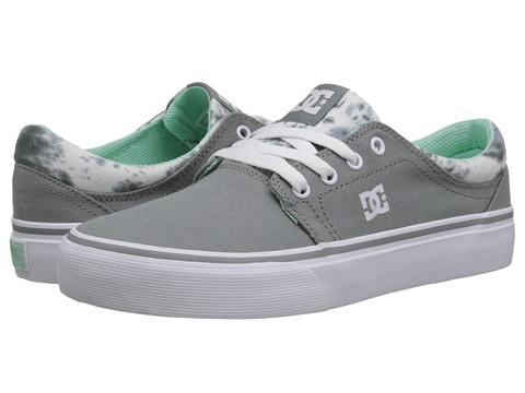 DC - Trase TX SE (Grey Feather Camo) Women's Skate Shoes