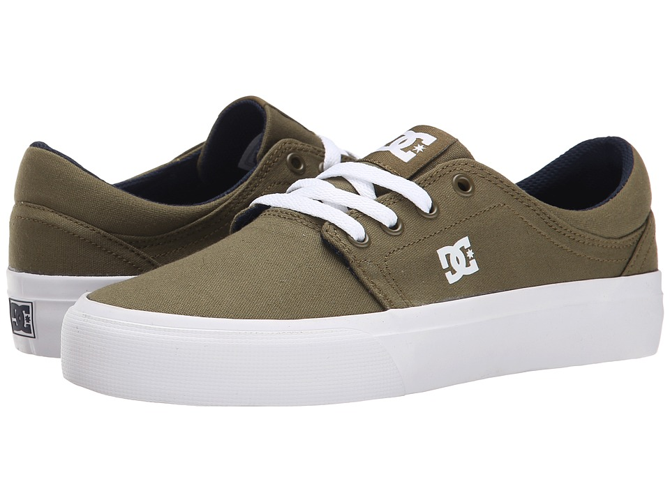 DC - Trase TX (Dark Olive) Women's Skate Shoes
