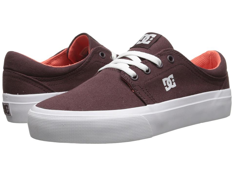 DC - Trase TX (Wine) Women's Skate Shoes