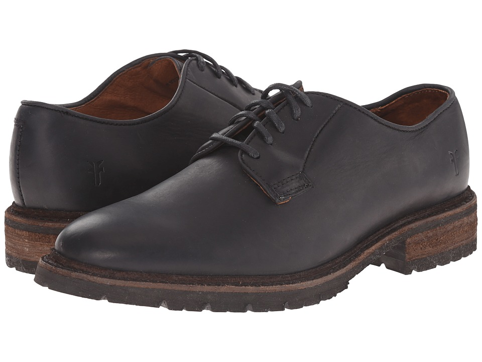 Frye - James Lug Oxford (Black Smooth Full Grain) Men's Lace up casual Shoes