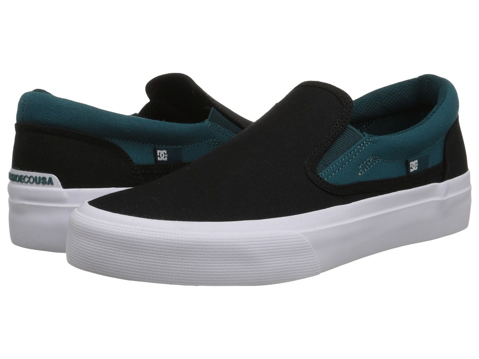 DC - Trase Slip-On TX (Deep Teal) Women