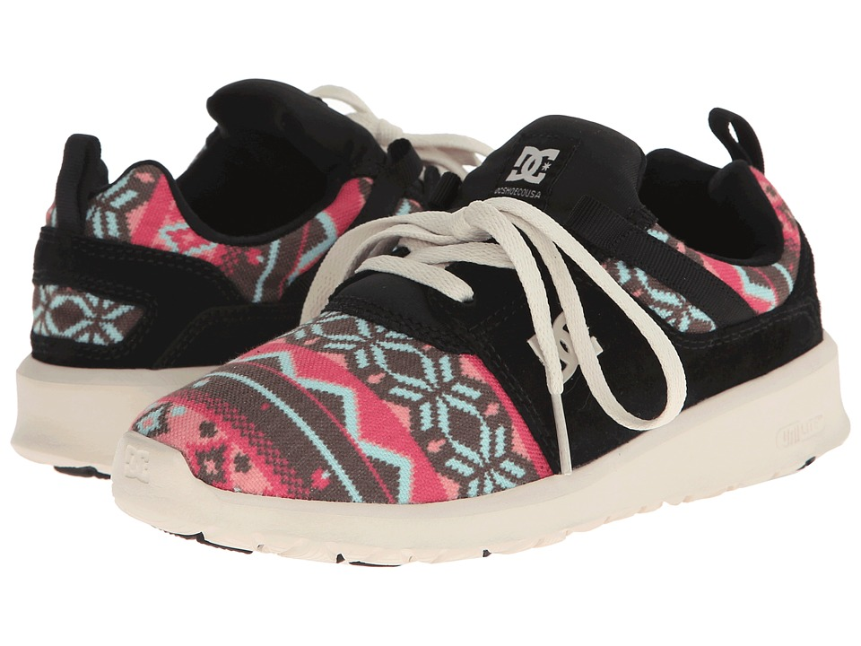 DC - Heathrow SE (Black Graphic) Women's Skate Shoes