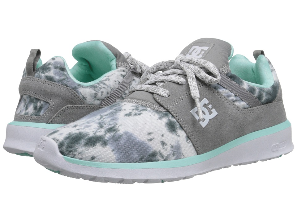 DC - Heathrow SE (Grey Feather Camo) Women's Skate Shoes