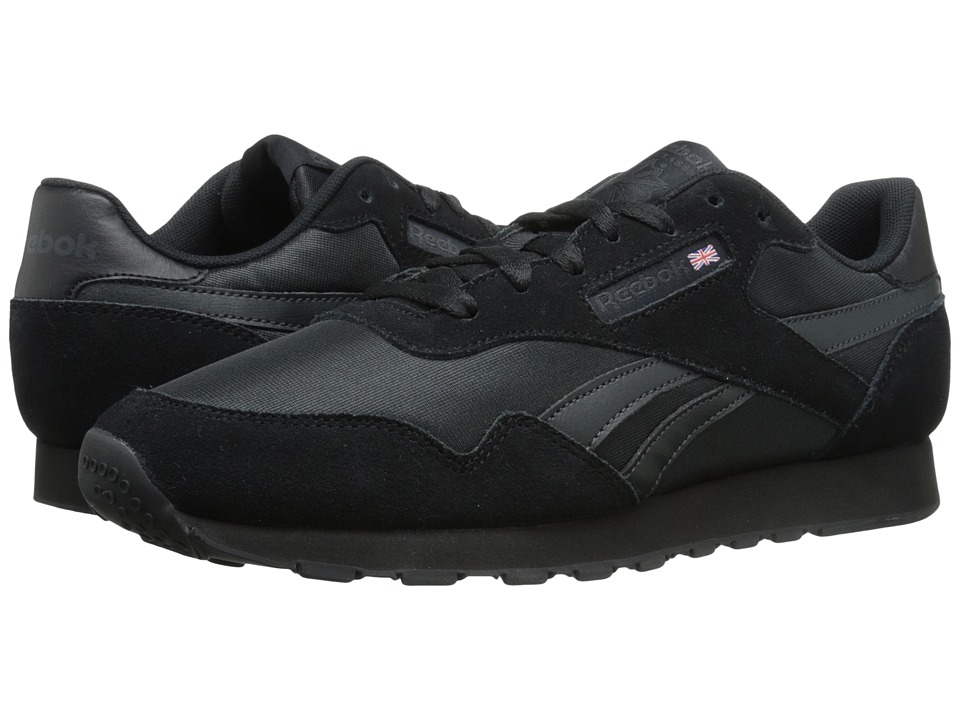 Reebok - Royal Nylon (Black/Gravel) Men's Shoes