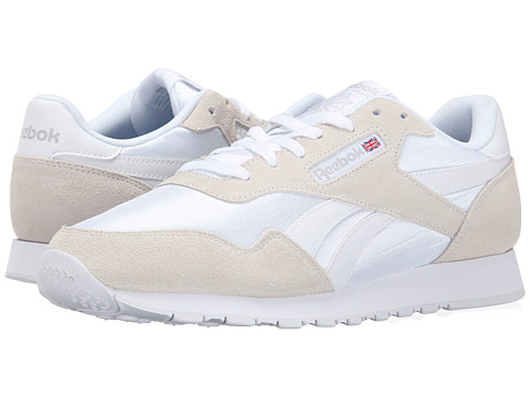 Reebok - Royal Nylon (White/Steel) Men