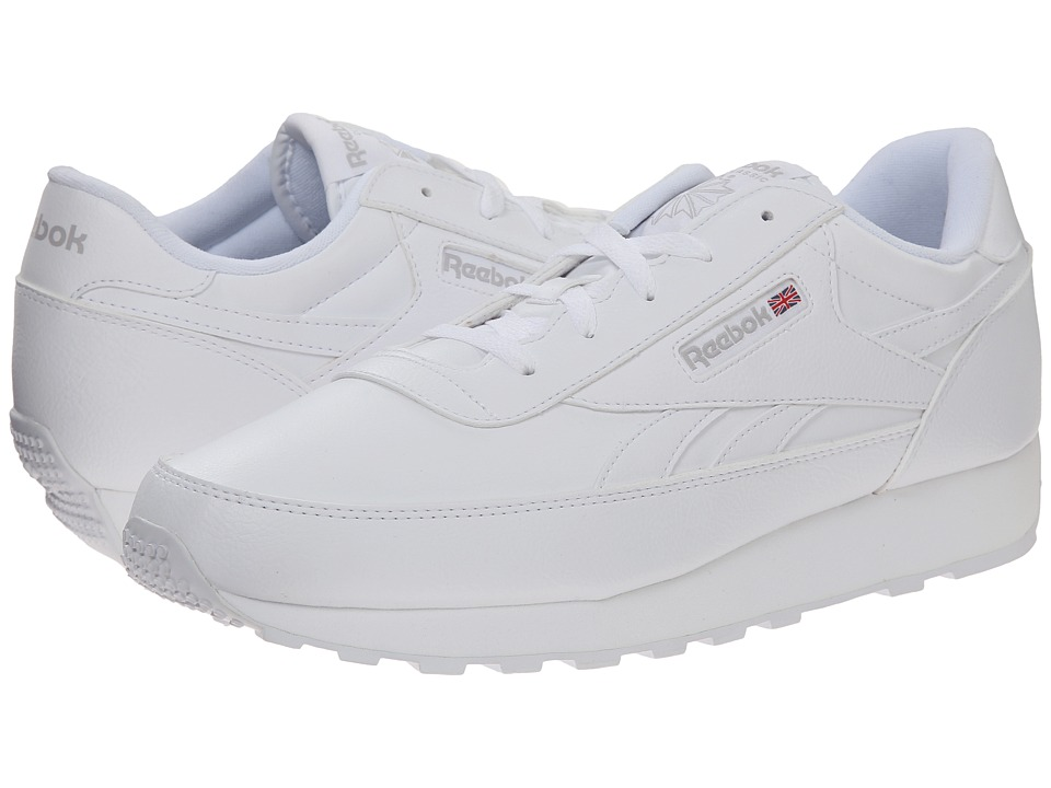 Reebok - Classic Renaissance (White/Steel) Men's Shoes