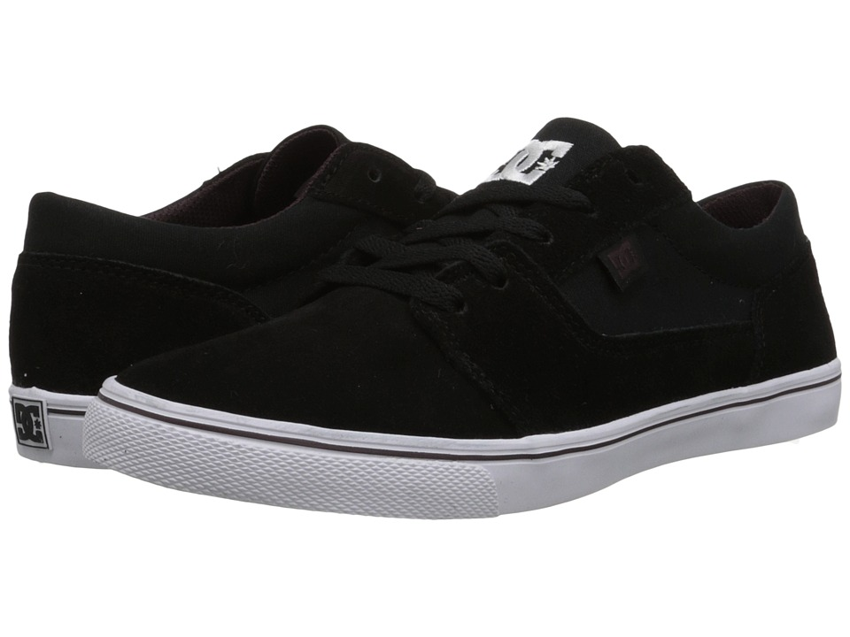 DC - Tonik W (Black/White/Red) Women's Skate Shoes