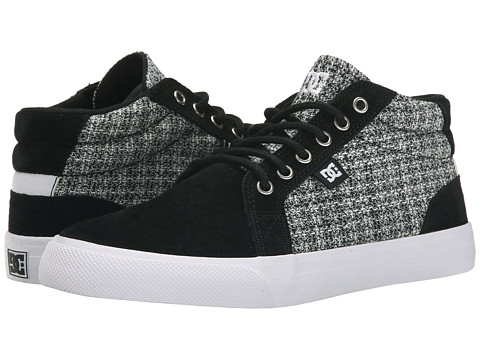 DC - Council Mid SE (Black/White/Grey) Women