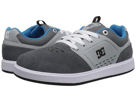 DC Kids - Cole Signature (Big Kid) (Grey) Boys Shoes