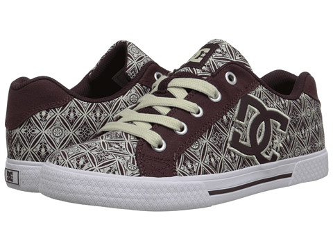 DC - Chelsea TX SE (Wine) Women's Skate Shoes