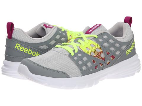 Reebok - Speed Rise (Steel/Flat Grey/Fierce Fuchsia/Solar Yellow) Women