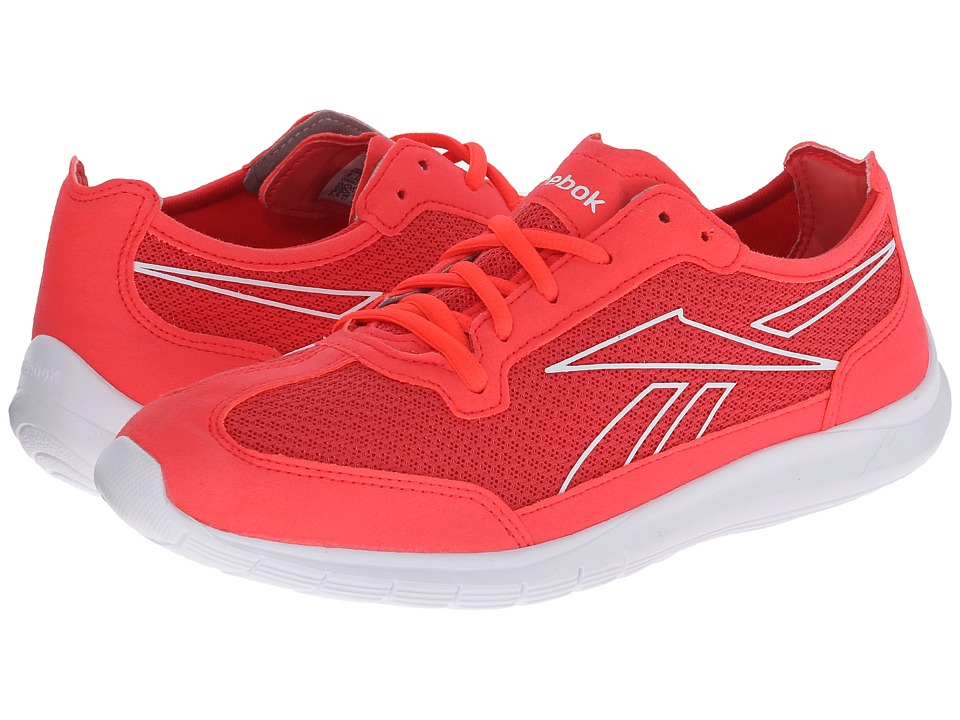 Reebok - Sport Ahead Action RS (Neon Cherry/White/Poppy Red) Women's Shoes