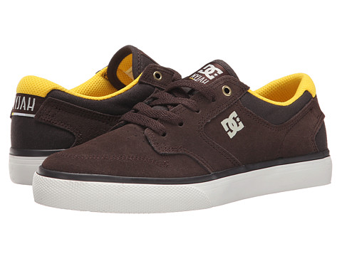 DC Kids - Nyjah Vulc (Big Kid) (Coffee) Boys Shoes