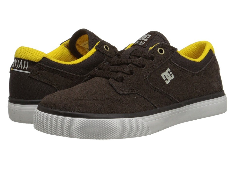 DC Kids - Nyjah Vulc (Little Kid) (Coffee) Boys Shoes