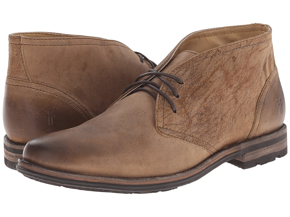 Frye - Oscar Chukka (Sand Textured Full Grain) Men