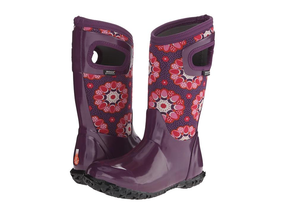 Bogs Kids - North Hampton Kaleidoscope (Toddler/Little Kid/Big Kid) (Purple Multi) Girls Shoes