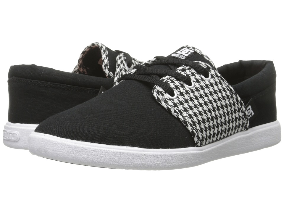 DC - Haven TX SE (Black/White/Black) Women's Skate Shoes